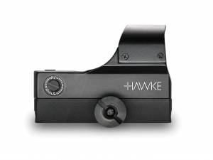 Hawke reflex sight wide view weaver