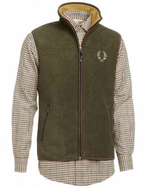 Chevalier 5463GR-B-GM-Mainstone-Fleece-Vest