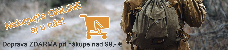 E-shop poľovníctvo PAĽA