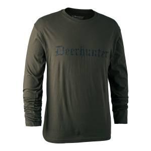 Tričko s dlhým rukávom Deerhunter Logo II