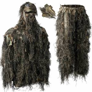 Untitled Sneaky Deerhunter Ghillie Pull-over Set s rukavicami 111