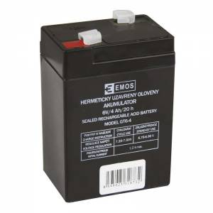 EMOS 6V nabíjateľná batéria