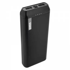 Power bank EMOS Alpha 20, 20000 mAh, čierny + kabel USB-C I