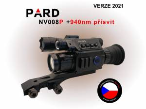 PARD NV008P + 940 nm prísvit